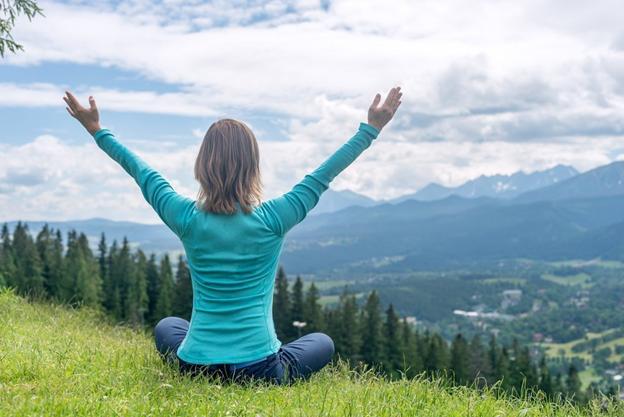 Медитация с использованием