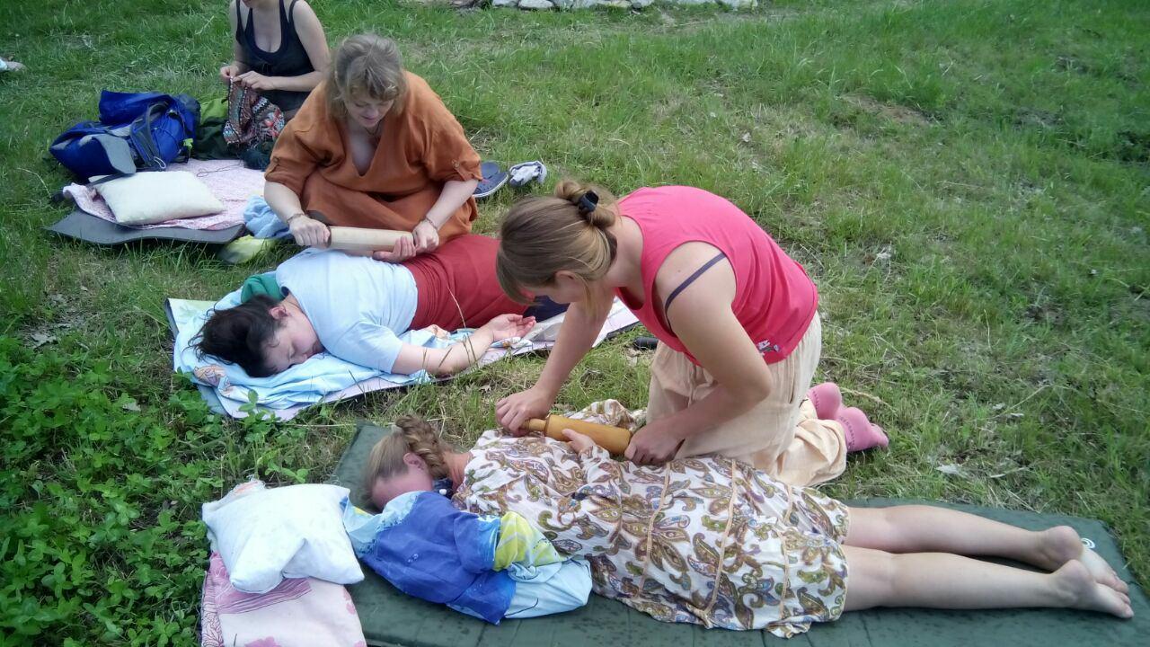 Псиэнергетический массаж