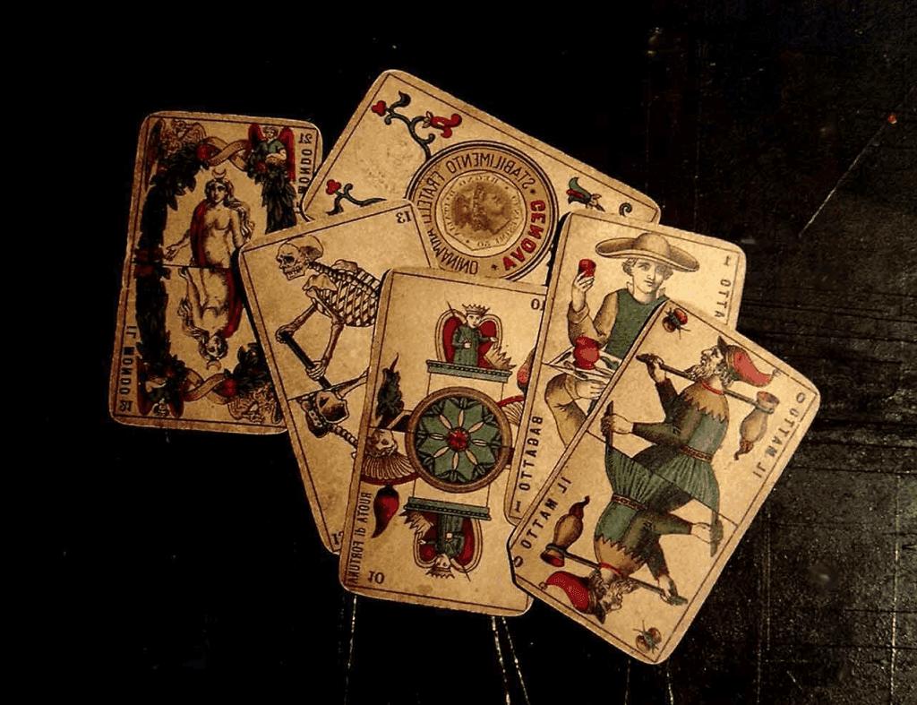 Картинки с игральными картами для декупажа