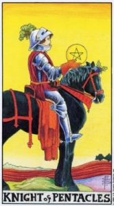 Рыцарь Пентаклей Всадник Рыцарь Монет