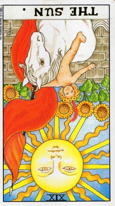 аркан Таро Солнце