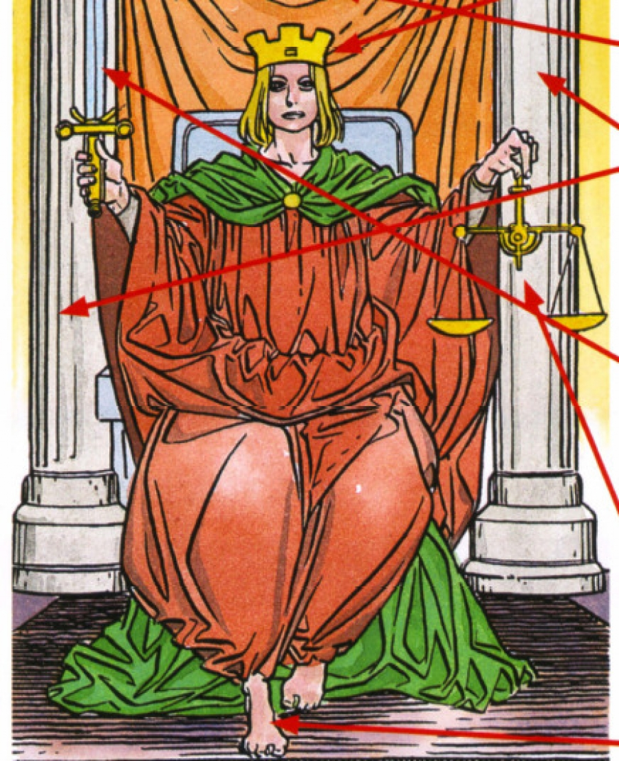 карта таро правосудие