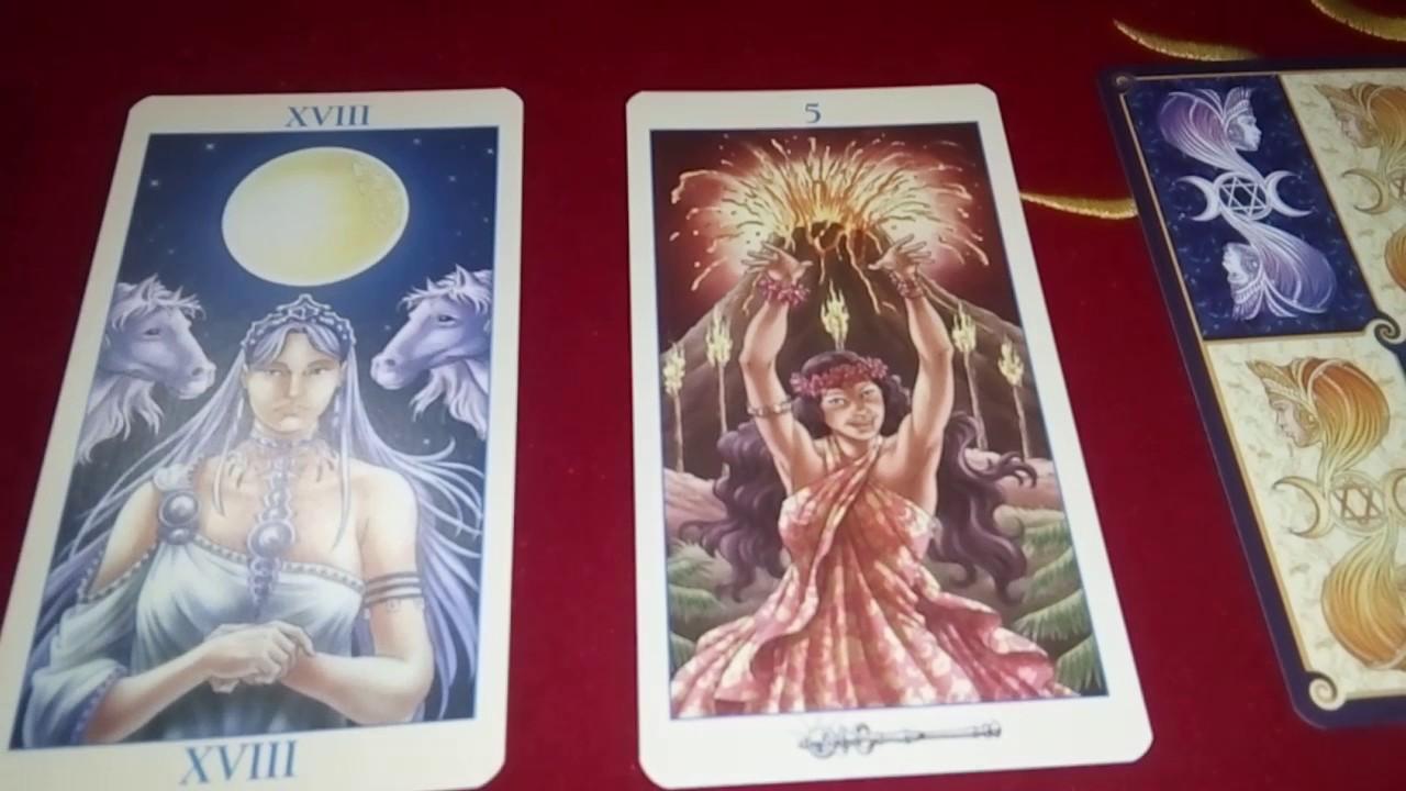 расклад Таро «Союз Богинь»