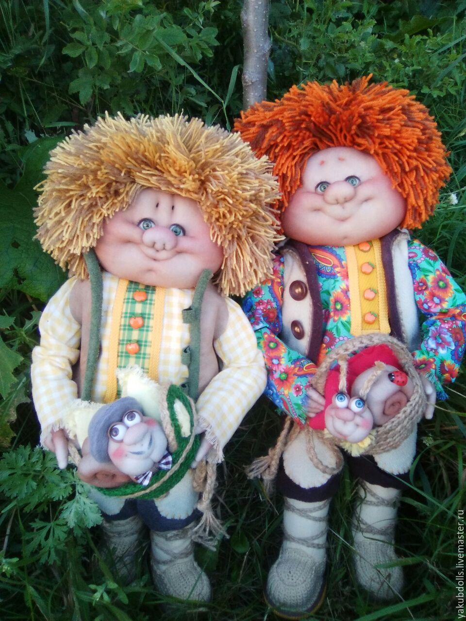 кукла домовой