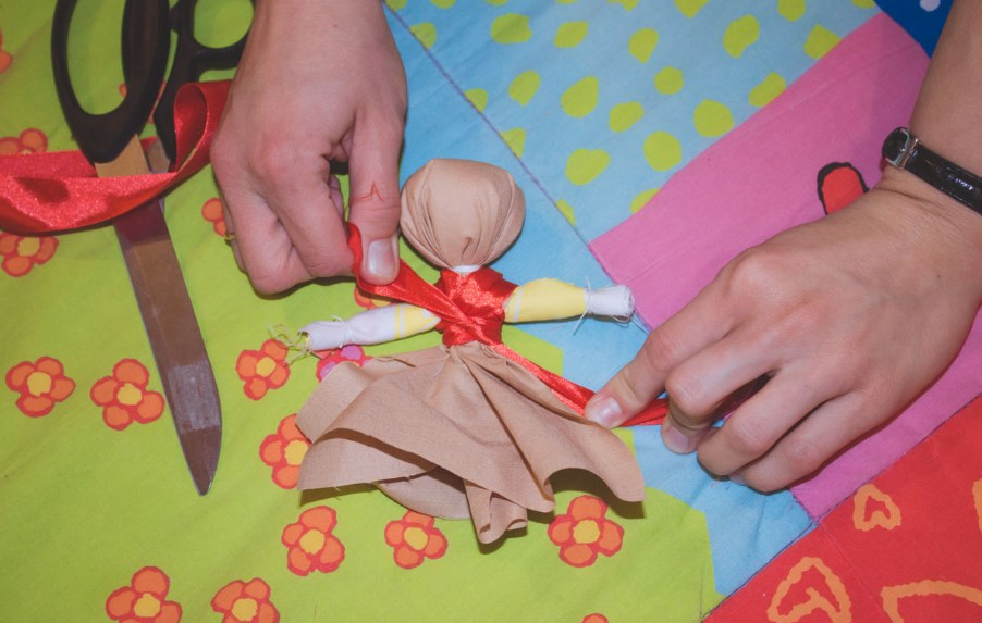 кукла оберег своими руками